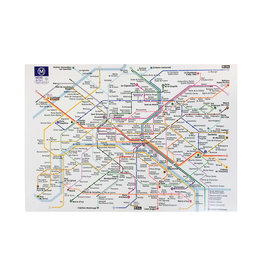 Plan RATP Dish Towel