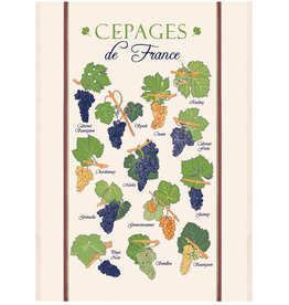 "SDE Cepages de France Kitchen Towel 23"" X 31"""