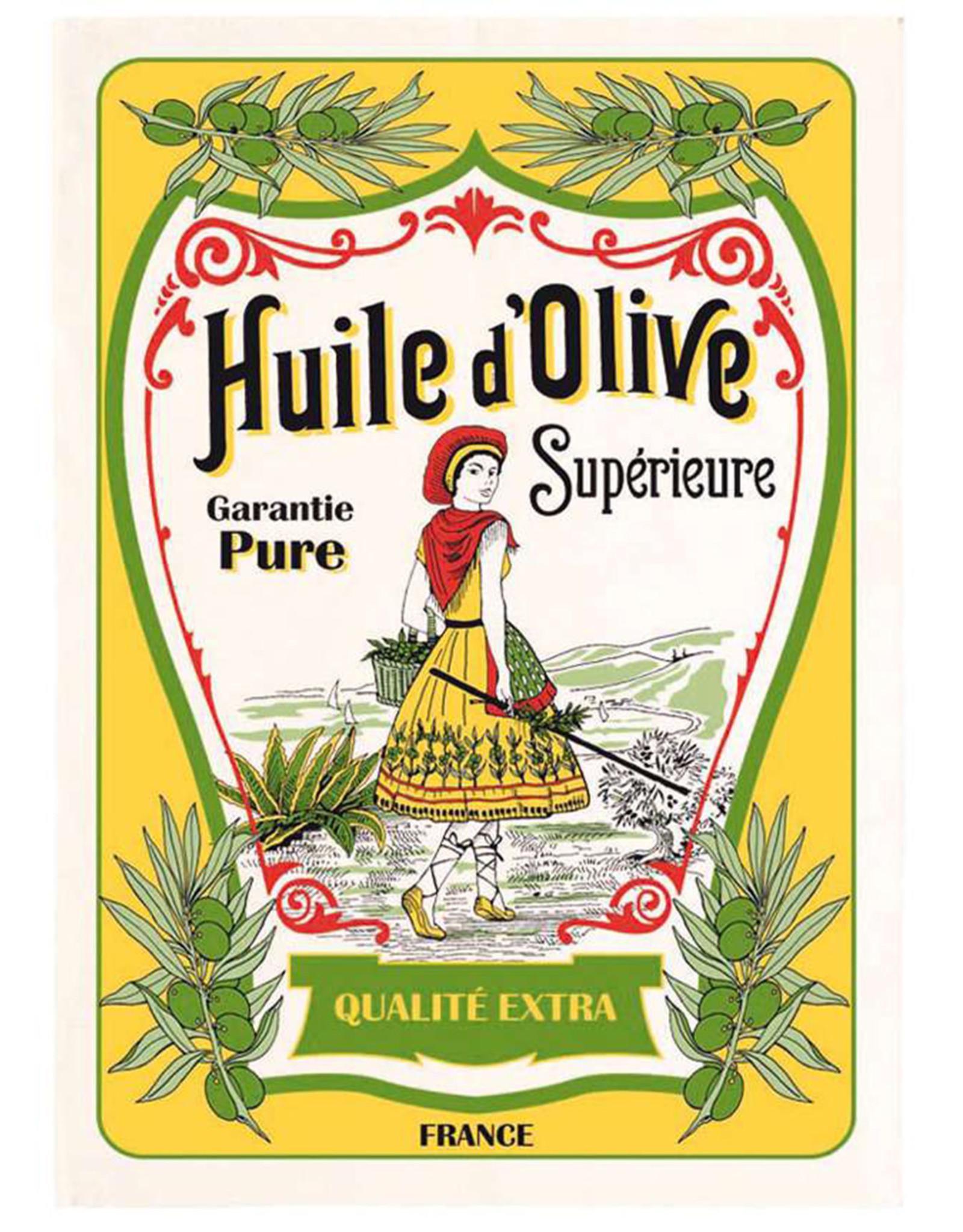 SDE Huile d'Olive La Cueillette Kitchen Towel