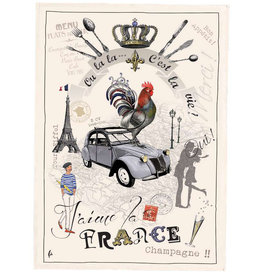 SDE France Panorama Kitchen Towel