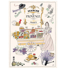 SDE Marche De Provence KItchen Towel