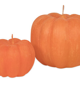 Pumpkin Candle Orange 5.5 x 2.75