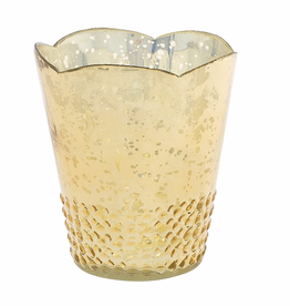 "AD Array Votive - Gold 4.5"" x 5.25"""