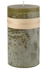 Timber Candle 3.25x9 - Moss by Vance Kitira