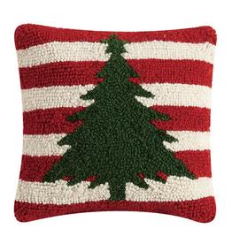 """Christmas Tree Stripes - 10"""" x 10"""""""