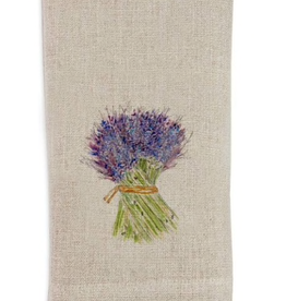 Linen Towel - Lavender Bunch