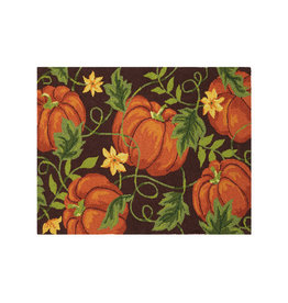 Pumpkin Harvest Hook Rug - 2' x 3'