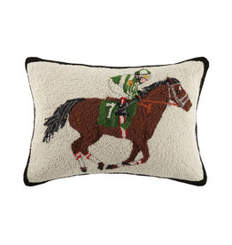 Equestrian Racer Hook Pillows 16 x 22