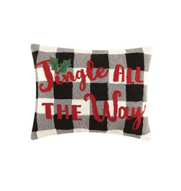 "Jingle All The Way Hook Pillow - 16"" x 20"""