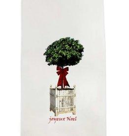 Towel - Topiary Joyeux Noel