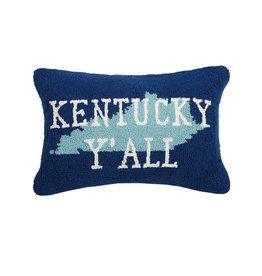 """Kentucky Y'all Hook Pillow  - 14"""" x 18"""""""