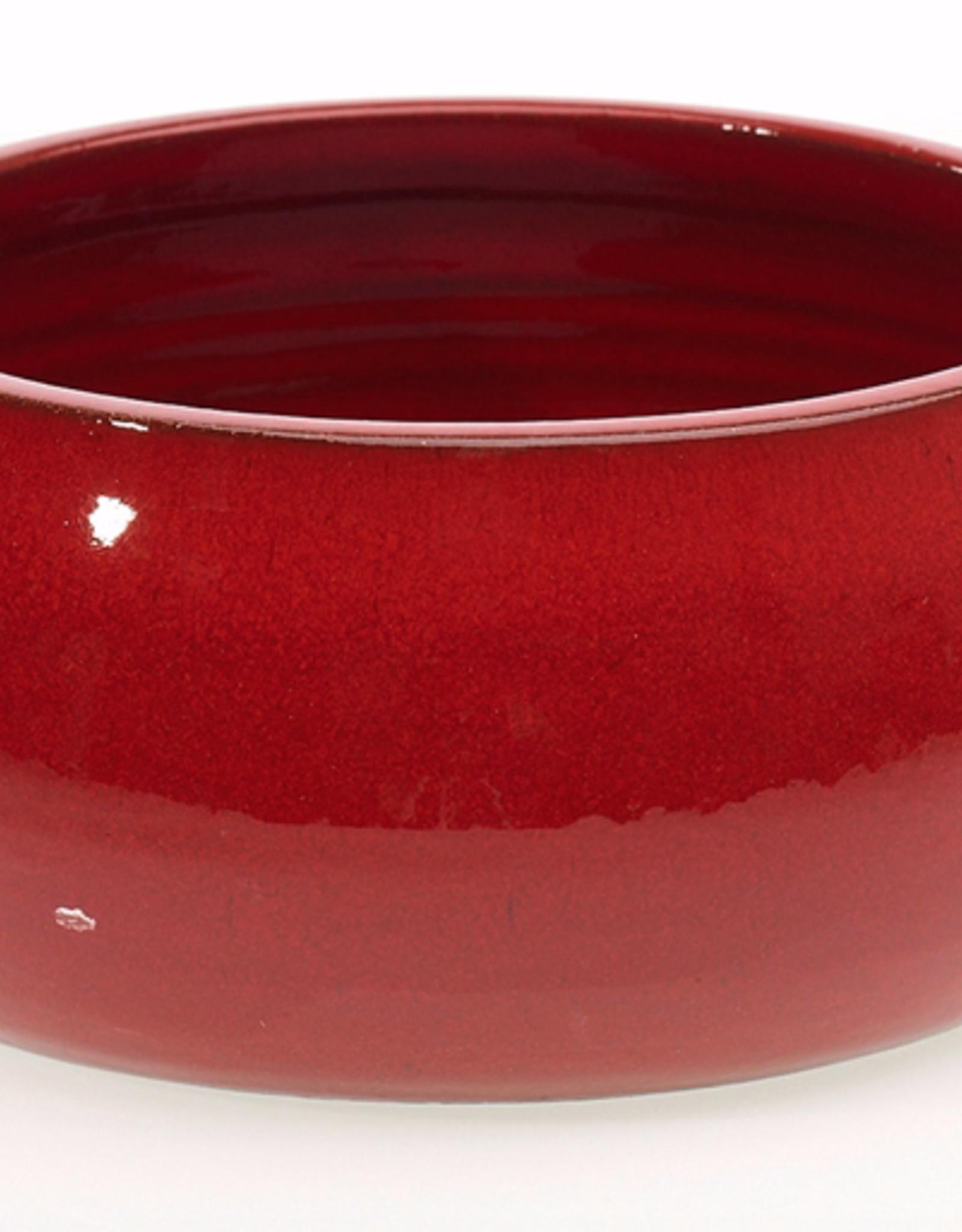 "AD Turner Bowl - Red - 10.25"" x 4.75"" - Ceramic"