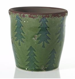 AD Meri Meri Pot 6.5 x 6.5 - Green