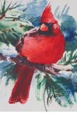 "Christmas Cardinal Table Runner - 16"" X 70"