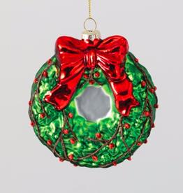 "Wreath Ornament - 4"""