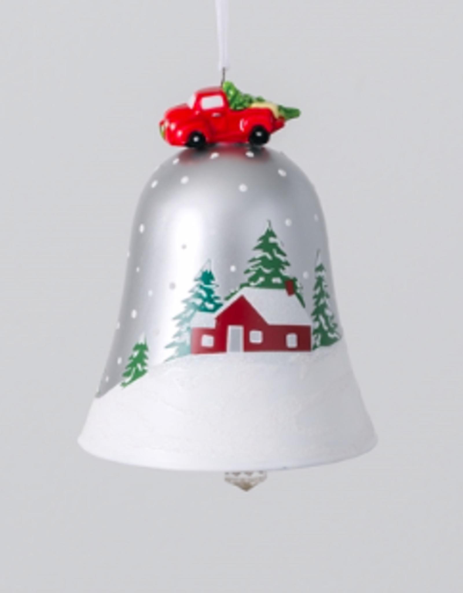 "Barn Bell Ornament 4.5"""