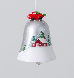 Barn Bell Ornament 4.5""
