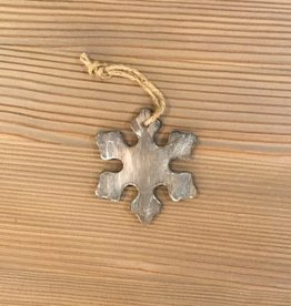 Park Hil Small Wooden Snowflake Ornament