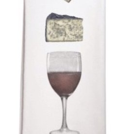 Wine & Cheese Single Towel