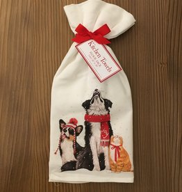 Snow Day Pets Towel - Set of 2