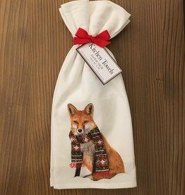 Winter Fox Towel Set