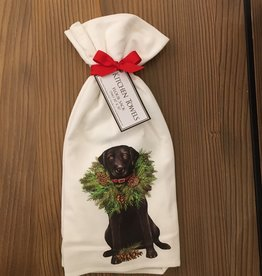 Holiday Lab with Wreath