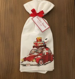 Santa Bug Towel Set - Set of 2