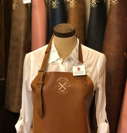 CL By European Splendor Light Cognac - Crafted Leather Classis Apron