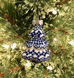 Christmas Tree Ornament - Blue Aurora (D922)