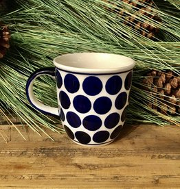 Mug - Big Blue Dots (D61)