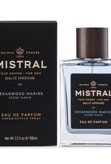 Cedarwood Marine Cologne 100 ml - Mistral Men's Collection