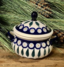 Soup Bowl Tureen - Peacock - .75L (25 oz)
