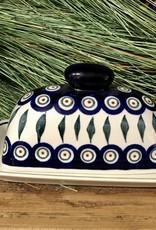 Butterdish - Peacock Pattern (D56) - Single Stick