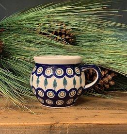 Bubble Mug - Peacock Pattern (D56)