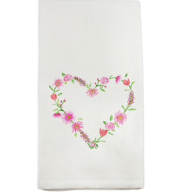 Towel - A Floral Heart