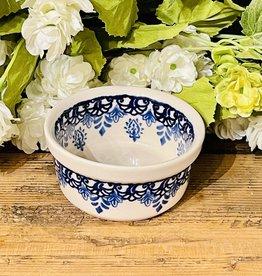"""Ramekin - Blue Garden  (D1248) 3.5"""" x 1.75"""""""