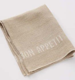Charvet Editions - Napkin/Placemat - Natural/White