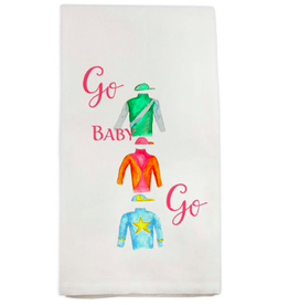 Towel - Jockey Silks Go Baby Go