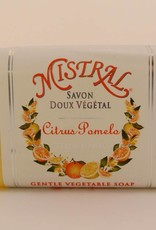 Mistral Classic French Soap Collection - 7 oz Citrus Pomelo