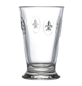 La-Rochere Fleur de Lys 10 oz Ice Tea / Highball Glass - La Rochere - Set of 6