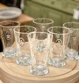 La-Rochere La Rochere - Fleur de Lys 10 oz Ice Tea  Glass - Set of 6