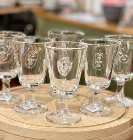 La-Rochere La Rochere Fleur de Lys 8 oz Wine Glass - Set of 6