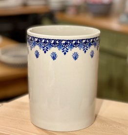 Flower / Utensil pot - Blue Garden (D1248)