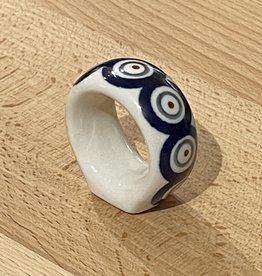 Napkin Ring - Peacock Pattern (D56)