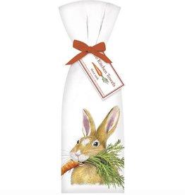 Hungry Rabbit Towel Set