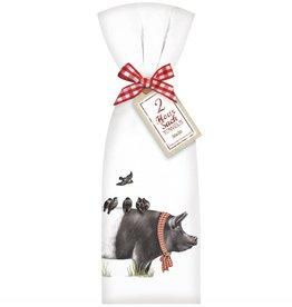 Farmhouse Pig Towel Set