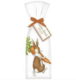 Rabbit w/Carrot Towel Set - 2 pk