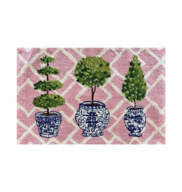"Topiary Collection Hook Rug - 24""x36"""