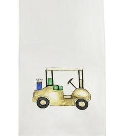 Towel - A Golf Cart