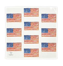American Flag Square